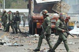 156 militaires et policiers vénézuéliens ont déserté