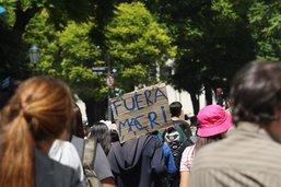 Le président argentin défend l'austérité et demande de la patience