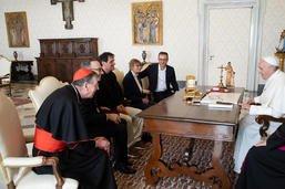 Le pape reçoit pour la première fois des victimes suisses d'abus