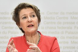 Simonetta Sommaruga appelle à resserrer les rangs pour le climat