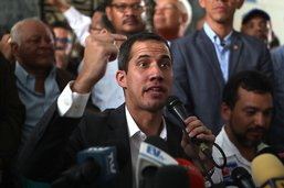 Pour l'opposant vénézuélien Guaido, la pression ne fait que débuter