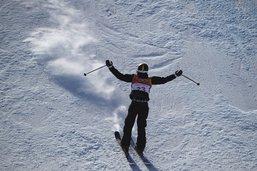 Mathilde Gremaud gagne son premier slopestyle de Coupe du monde!