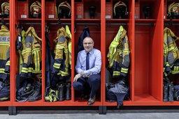 Le pompier qui ne brûle pas les étapes