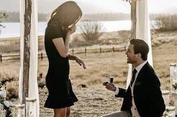 Mon joli cœur, veux-tu m'épouser?