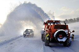 Même pas peur de la grosse neige