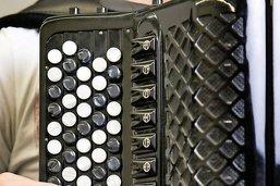 L'accordéoniste par vent contraire