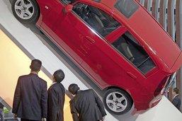 L'automobile en pleine crise