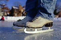 J'ai appris le patin à Château-d'Œx