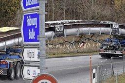 Transport d'acier «exceptionnel»