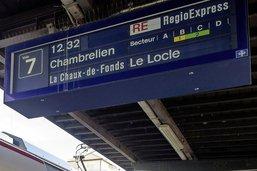 Treize milliards de francs pour le rail