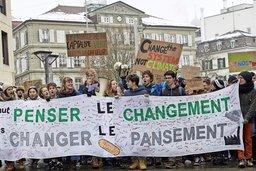 Nouvelle manifestation pour le climat