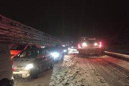 Le «toboggan» de l'autoroute A12 fermé durant plusieurs heures