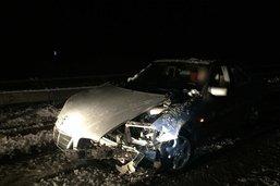 Conductrice blessée après un tête-à-queue sur l'autoroute A1