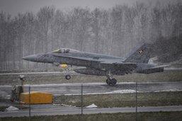 Essais d'avions de combat à Payerne