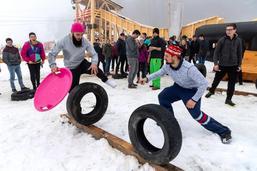 Botterens: les Jeunesses gruériennes en mode hiver