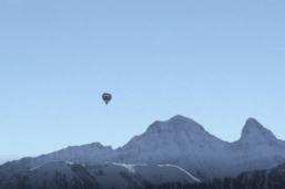 Les éco-ballons survolent la Gruyère