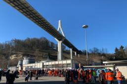 Cent-cinquante employés communaux en grève
