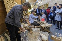 Succès d'affluence pour le salon du bois à Bulle
