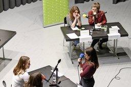 La jeunesse débat à Domdidier