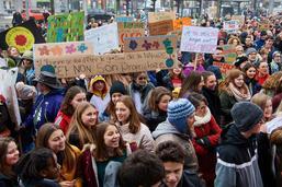 Deuxième manifestation pour le climat