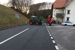 Grave accident à Villarlod