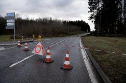 Deux routes fermées