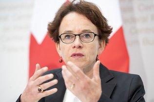 Etats: Eva Herzog (PS/BS) candidate à la succession d'Anita Fetz
