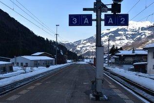 Grisons: adolescente percutée en gare par un train en partance