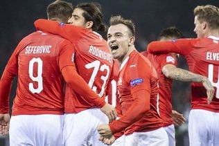 Qualifications de l'Euro 2020: un match à Sion et un à Genève