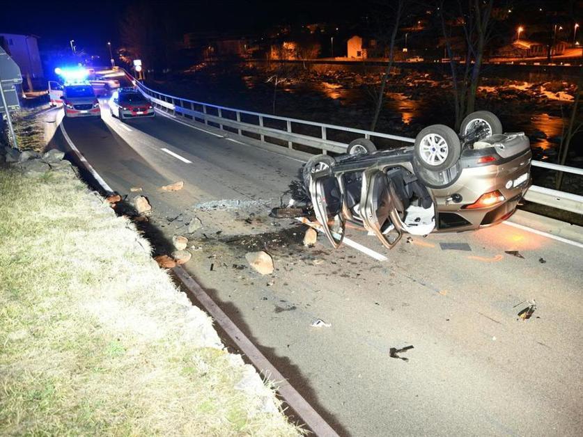 Deux blessés dans un accident à Roveredo (GR)