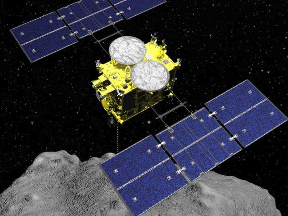 Hayabusa2 a lâché son impacteur avec charge explosive sur l'astéroïde Ryugu