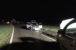 Trois blessés après une collision à Guntmadingen (SH)