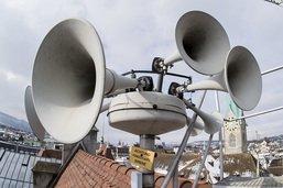 Fausse alerte d'un danger général dans un quartier de Berne