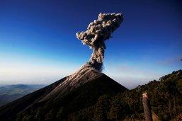 Augmentation de l'activité du volcan guatémaltèque Fuego
