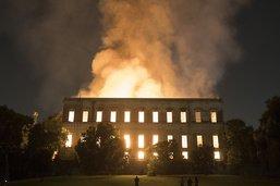 Musée national de Rio: la climatisation à l'origine de l'incendie