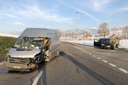 Trois blessés dans un accident à Vuadens