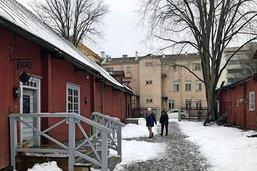 A Turku, enfin une sensation d'hiver