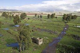 Plateau du Golan, une histoire d'eau