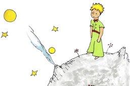 Le Petit Prince avec des mots simples