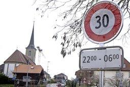 Deux routes cantonales à 30 km/h