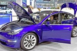 Tesla devant ses concurrents en mars