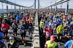 En route pour le marathon de New York