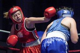 Les filles bien présentes sur le ring