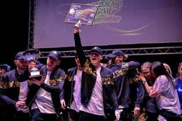 Six fois d'affilée champions suisses de hip-hop