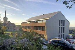 Un immeuble du futur à Villarlod