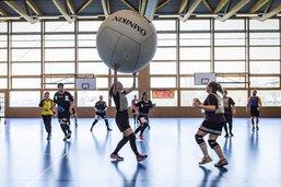 Tournoi de Kin-Ball à Farvagny
