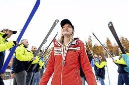 Noémie Kolly: «Plus c'est raide, mieux ça me va»