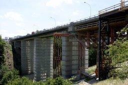 Les travaux reprennent sur le pont sur le Lavapesson