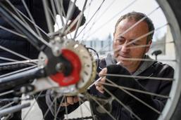 A Fribourg, on réinvente le deux-roues
