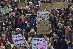 Manifestation pour le climat à Fribourg